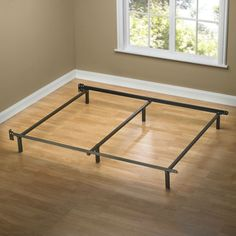 find this pin and more on metal bed frames basic to beautiful - Basic Bed Frame