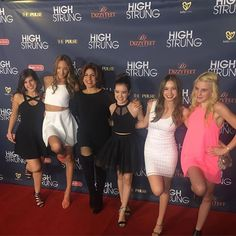 Sally Miller Rockettes on the red carpet So happy to be a sponsor for the amazing @highstrungmovie premiere In theaters April 8th!! #dance #sallymiller #sallymillercouture #HighStrungMovie #dancers #redcarpet #hardworkpaysoff #springstyle