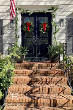 Dreaming of a fully custom statement door? Our team works with you from start to finish to create the perfect iron door for your home—specify every element from the glass type to the pivot points. Traditional Styles, Traditional Doors, Entrance Decor, House Entrance, Front Entry, Entry Doors, Clark Hall, Custom Exterior Doors, Iron Doors