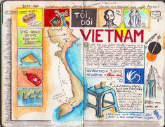 Interview: Avid Adventurer Reveals His Brilliant Travel Journal Ideas Travel Journal Pages, Travel Journal Scrapbook, Bullet Journal Travel, Travel Journals, Travel Books, Cher Journal, Bullet Journal Inspiration, Journal Ideas, Dear Diary