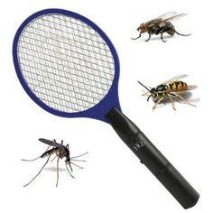 Raquette Électrique Tue Mouche Anti Insectes #Raquette #Electrique #AntiInsectes