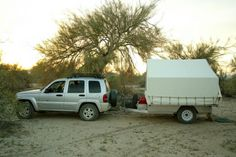 Haultent Expedition offroad rough country camp tent trailers