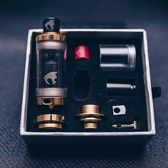 """Gold Monsters Now Available On our website 528custom.com we will be running a Black Friday sale today and tomorrow use coupon code """"free shipping"""" to revive free shipping and include you shirt size in your order to receive your free shirt with order. @528_custom_vapes - See more at: http://iconosquare.com/viewer.php#/feed/list"""