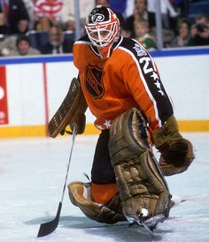Goalie Gear, Hockey Goalie, Ice Hockey, Flyers Hockey, Hockey Games, Nhl All Star Game, Olympic Games Sports, Philadelphia Sports, Vancouver Canucks