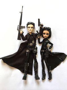 Neo und Trinity Matrix