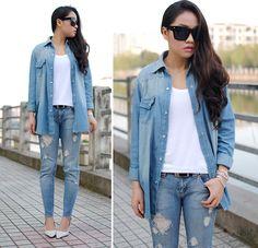 Diy Ripped Jeans, Denim Shorts