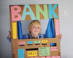 dramatic play area: bank