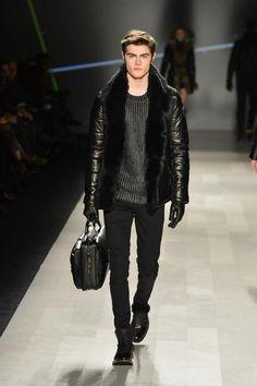 Men's leather jacket by RUDSAK FW13