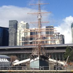 Our review of the Polly Woodside Tall Ship in Melbourne, Australia by Wilson Family Travel Blog Us Travel, Family Travel, Tall Ships, Hotel Reviews, Melbourne Australia, Adventure Travel, Things To Do, Travel Memories, Viajes