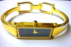 Wristwatch, vintage GUCCI watch 1500 Swiss Wrist watch authentic, vintage watch womens Sale FREE SHIPPING. , via Etsy.