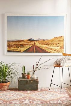 Kevin Russ Mountain Road Art Print