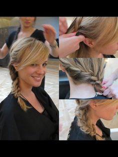 Une coiffure bohème pour rentrer de la plage - Photos Beauté - Be.com