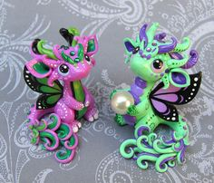 Baby Butterfly Dragons by DragonsAndBeasties on deviantART
