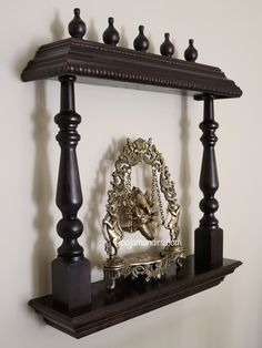 Foyer Furniture, Simple Furniture, Furniture Design, Temple Design For Home, Mandir Design, Living Room Tv Unit Designs, Pooja Room Door Design, Dining Room Table Decor, Pooja Rooms