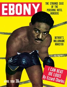 Jet Magazine, Black Magazine, Ebony Magazine Cover, Magazine Covers, Louie Bellson, Ebony Color, Boxing History, Joe Louis, Coloured People