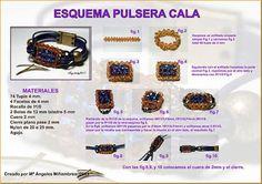 Quienlodira Creations: Outline Bracelet Cala