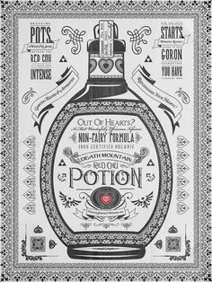 Legend of Zelda Vintage Red Chu Potion Advertisement Poster.Part 1 of 3 Potions Series. Barrett Biggers, the People's Multimedia Artist. Cartoon Network, Zelda Video Games, Nintendo, Multimedia Artist, Poster Making, Print Artist, Legend Of Zelda, Cool Artwork, Vintage Art