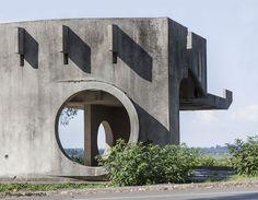 Фотоальбом Кристофера Хервига: автобусные остановки бывшего СССР, Buro 24/7 Kazakhstan