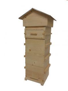 Bestel nu de beste Warre bijenkast van Nederland! Helemaal compleet en voorzien van één kijkvenster.