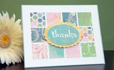 Thank you card by Silhouette America - What can you make
