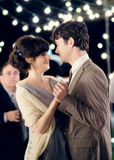 "500 Days of Summer ""Why did you dance with me?"" ""Cause I wanted to."""