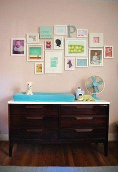 nursery wall by dina