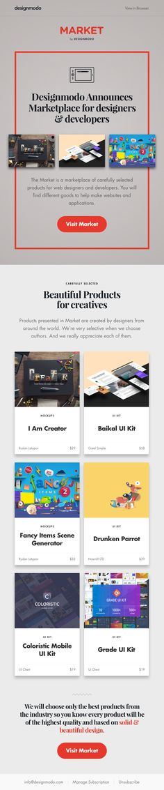 Typo – Newsletter HTML email marketing design | Beautiful Email ...