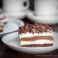Low Carb Chocolate Lasagna is entirely made from scratch with wholesome gluten-free and sugar-free ingredients   lowcarbmaven.com