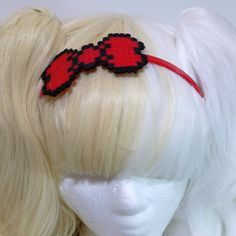 8bit Headband by LollyMist