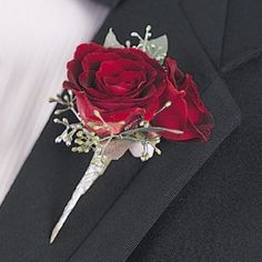 """Flower Boutonniere; You'll be delighted to browse hundreds of photos of floral designs, including bride bouquet, corsage & boutonniere, centerpiece, church florals and reception decor. Easy """"How To"""""""