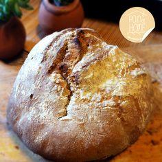 : pan rústico orgánico de centeno (con masa madre) // rustic-organic (sourdough) rye bread.