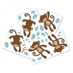 Giggles Monkey Wall Decals.