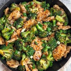 Broccoli Stir Fry, Chicken Broccoli, Low Carb Recipes, Healthy Recipes, Best Chinese Food, Healthy Chicken Dinner, Good Food, Yummy Food, Easy Cooking