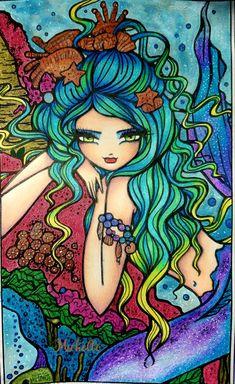 Shannon   Enchanted Faces  Hannah Lynn! Coloring Books, Coloring Pages, Hannah Lynn, Disney Characters, Fictional Characters, This Book, Mermaid, Fantasy, Disney Princess