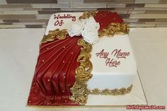 Happy Wedding Anniversary Cake With Name Best Birthday Cake Images, Happy Birthday Wishes Cake, Elegant Birthday Cakes, Birthday Cake Pictures, Beautiful Birthday Cakes, Birthday Cake For Boyfriend, Birthday Cake For Him, Birthday Cake With Flowers, Birthday Cake With Candles