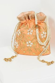 Shop Free People's beautiful boho bags, fringe purses, vegan totes, and more. Accessorize your outfit with a statement handbag that you could carry forever! Wedding Purse, Wedding Bags, Tent Wedding, Potli Bags, Bridal Clutch, Fringe Purse, Vintage Clutch, Boho Bags, Bag Patterns To Sew