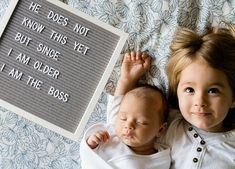 6 Easy (and Non-Lame) Ways to Chronicle Baby Milestones 6 (Non-Lame) Cute Ways to Chronicle Baby Milestones – PureWow 3 Month Old Baby Pictures, Baby Hospital Pictures, Milestone Pictures, Monthly Baby Photos, Monthly Pictures, Newborn Pictures, Funny Baby Pictures, Baby Messages, Baby Letters