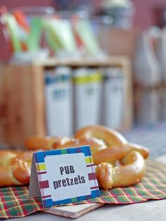 Pub-Style Pretzels & Beer Cheese Sauce recipes for your Father's Day get-together>>  http://www.hgtv.com/holidays-and-entertaining/pub-style-pretzels-and-beer-cheese-sauce-recipes/index.html