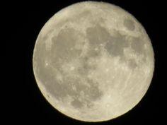 I very cold, full moon tonight.