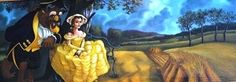 Two of my favorite movies...Beauty & the Beast + Gone with the Wind