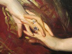 Joe's Fine Art Blog: John Singer Sargent Painting at National Portrait Gallery in Washington