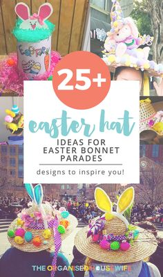 If your kids have an Easter Hat Parade coming up, check out some of my Easter bonnet ideas, get the kids to help create their masterpiece!