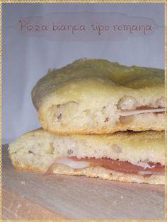 Pizza bianca tipo romana (Pizza typical of Rome) #Pizza #Bread