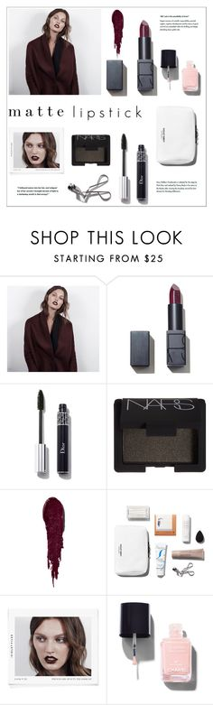 """""""Untitled #408"""" by zitanagy ❤ liked on Polyvore featuring косметика, NARS Cosmetics и Chanel"""