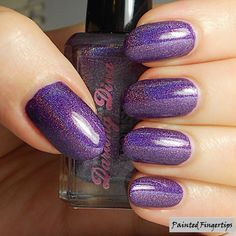 Darling Diva Polish: The Deadpool Collection – Part 1 (the Holos!) | Painted Fingertips