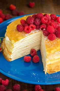 This crepe cake is b
