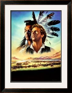 Kevin Costner  and Graham Greene  Dances with Wolves    1990