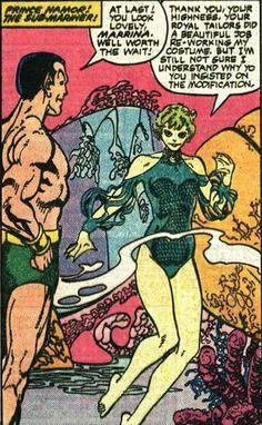 Namor and Marrina