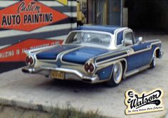 scallop paint masks on cars | larry watson s very first scallop paint job was on