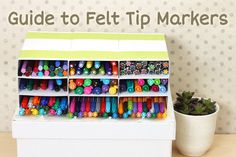 """See, THIS is why I love JetPens - not only do they sell the wonderful, hard-to-get pens, they DO THE RESEARCH to give you all the info you need and desire --here's """"Guide to Choosing a Felt-Tip (Porous-Tip) Marker Pen"""""""